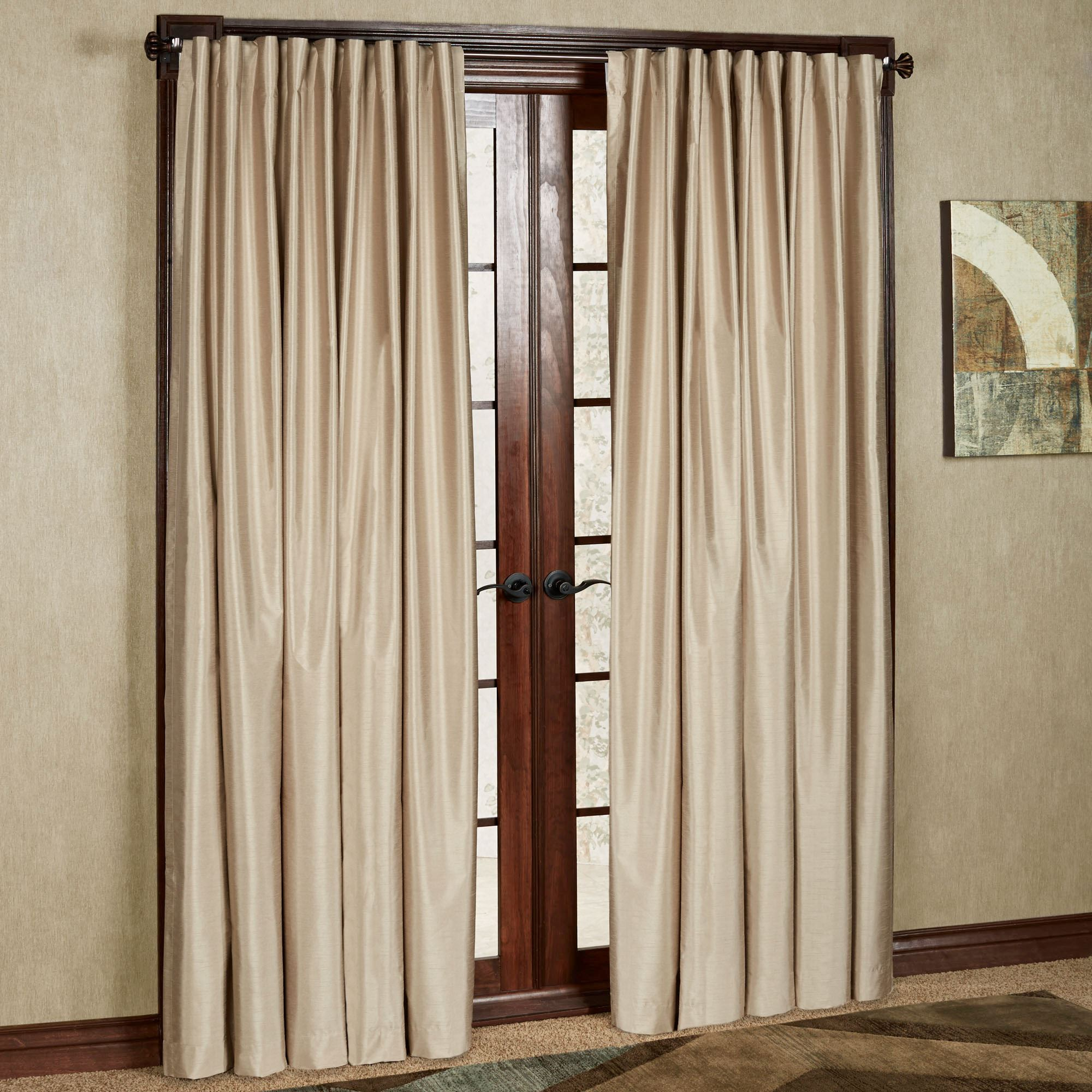 room darkening curtains fontaine back tab wide width curtain pair PBEGWTD