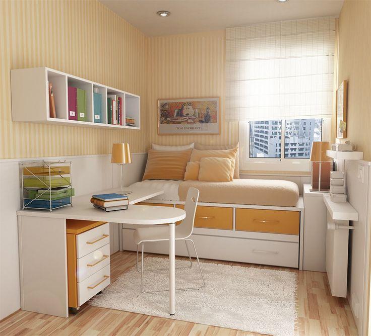 room design ideas ideias criativas para decoração de quartos pequenos WUAVGWY