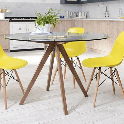 round glass dining table https://i.pinimg.com/736x/0d/d9/62/0dd962b826d6cff... NYSDRHS
