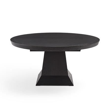 round pedestal dining table leighton 54 HCIRBBR
