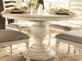 round pedestal dining table linen* YQZHPIG