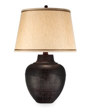 rustic table lamps FLYTJED