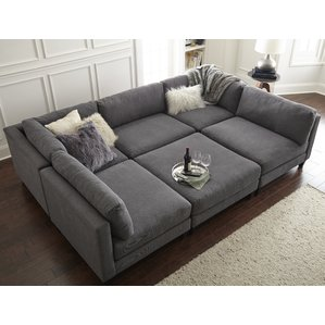 sectional couch chelsea modular sectional ESYBMNF