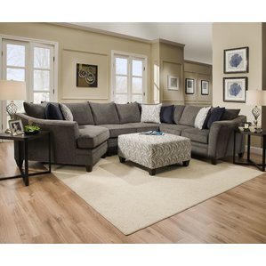 sectional couch teri sectional by simmons upholstery PLLGQVU