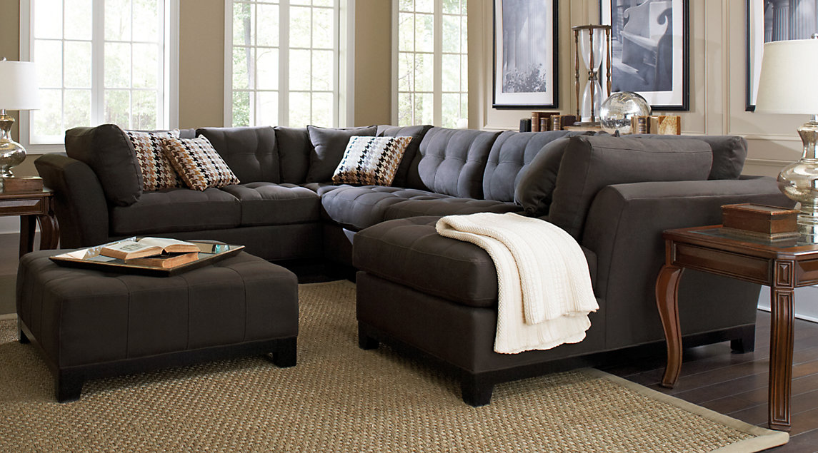 sectional sofas sectional sofa sets: large u0026 small sectional couches DMLQZHJ