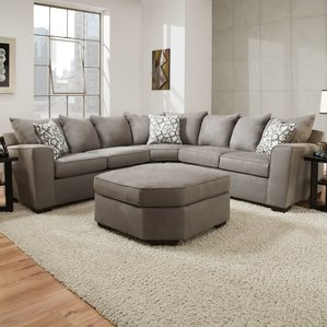 sectional sofas simmons sectional WAMEWIY