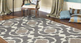 shag area rugs amazon.com: rugshop cozy moroccan trellis indoor shag area rug, 5u00273 IUXYNJX