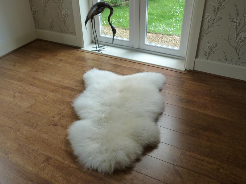 sheepskin rug ... WNHXJIK