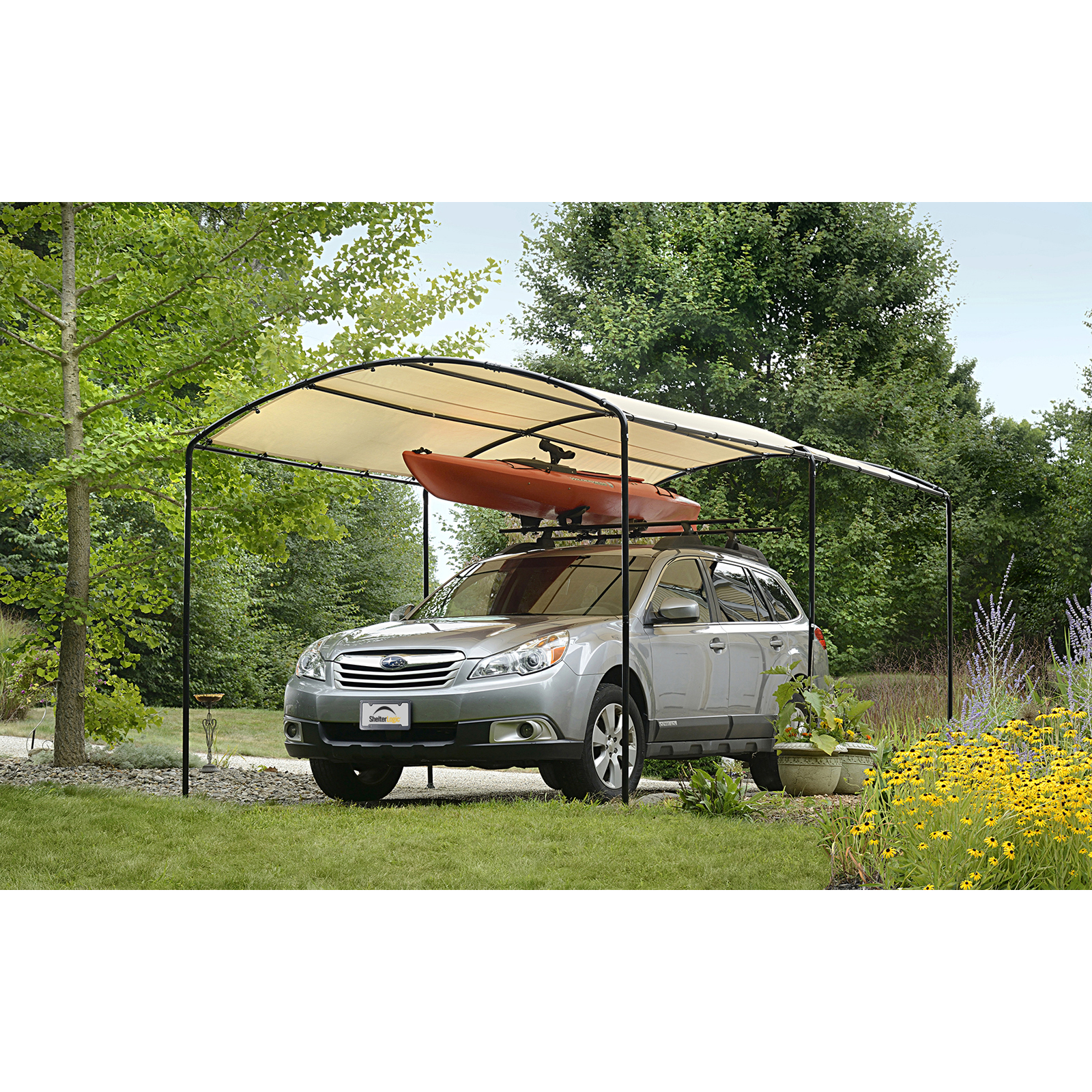 shelterlogic monarc car canopy ZNADMOH