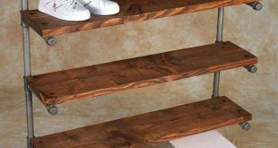 shoe racks love this idea for a nice looking and sturdy shoe rack! QWRJCDI