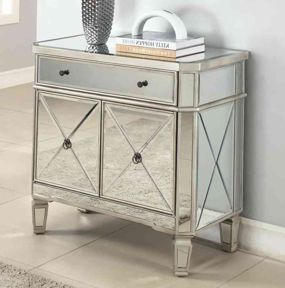 side tables for living room ... awesome mirrored side table living room decoration ideas white glass  upholstery ZVKQQVX