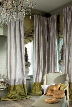 silk curtains are not just a back drop. they make a powerful and LMTFASF