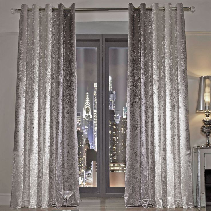 silver curtains kylie minogue natala curtains, silver u0026 cream QZYAMLA
