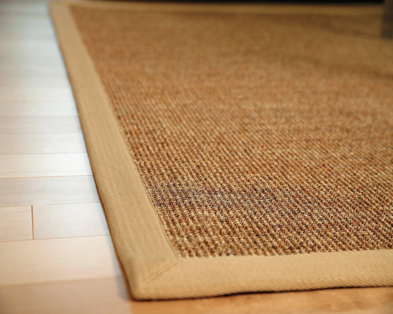sisal rugs amazon.com: anji mountain amb0120-1014 kingfisher sisal area rug, natural,  10 x 14-feet: ORQTUPG