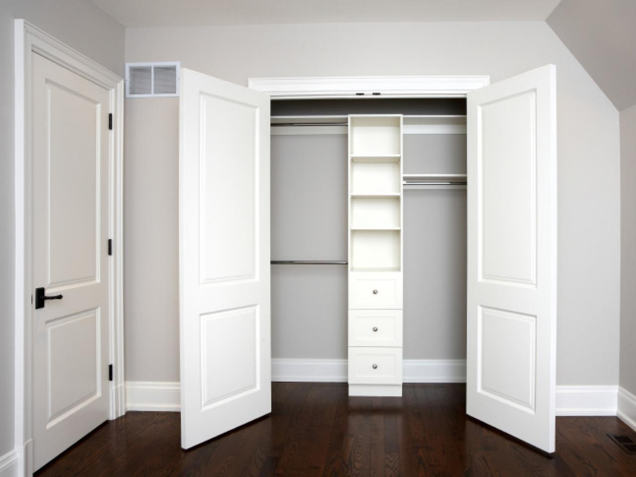 Sliding closet doors are unique