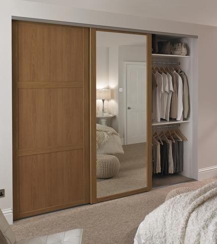 sliding door wardrobes shaker panel door oak | sliding wardrobe doors | doors u0026 joinery | XMRCMHD
