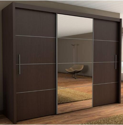 sliding door wardrobes wenge wardrobe - 3 door sliding wardrobe with sliding doors XFAVJUF
