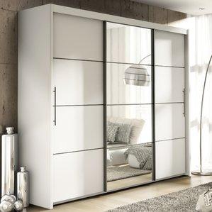 sliding wardrobes luciano 3 door sliding wardrobe FCKZKOF