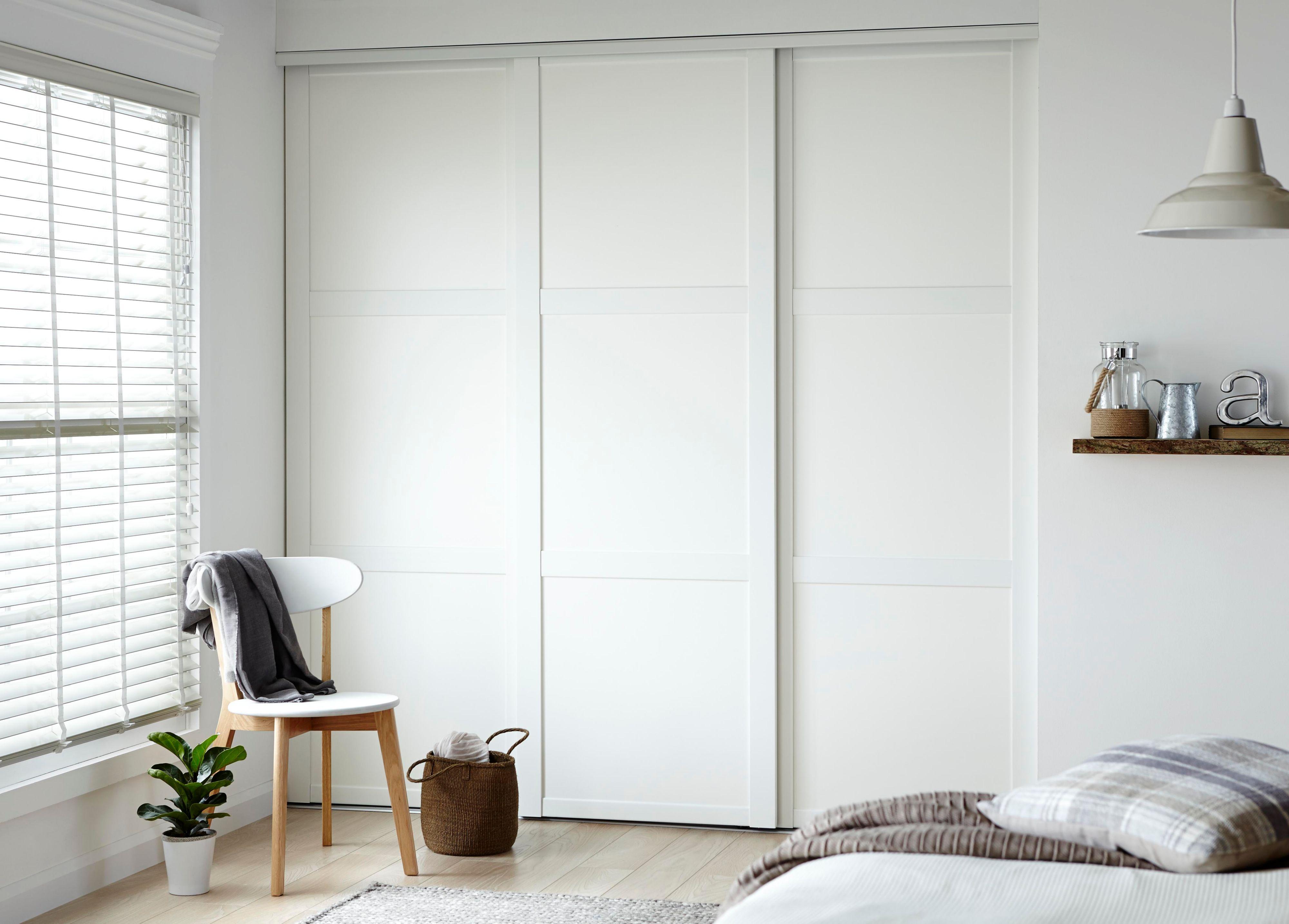 sliding wardrobes shaker door kits KPFTUKD