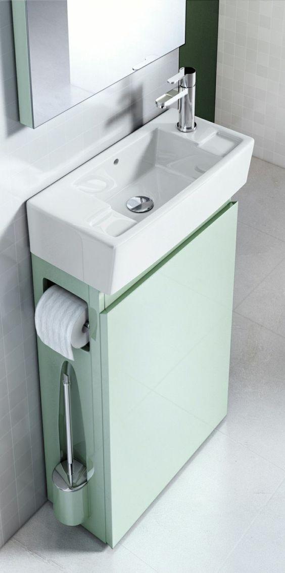 small bathroom sinks simple how to build a tiny house. toilet brushtoilet sinkspace saving  bathroomsmall BKSYQHO
