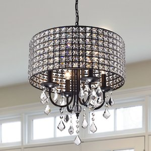 small chandeliers albano 4-light crystal chandelier WKHBXSN