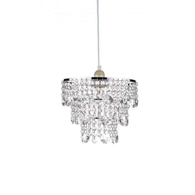 small chandeliers the lighting book cybil small easy fit crystal chandelier, chrome frame VOCCVDK