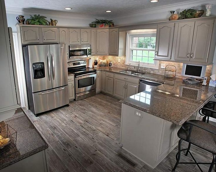 small kitchen designs kitchen, small kitchen with peninsula and recessed lighting over kitchen  cabinets: 20 HVKUKYW
