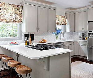 small kitchen ideas small-kitchen ideas: traditional kitchen designs HCXHZKT