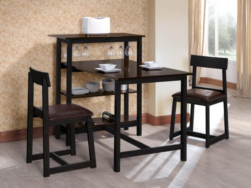 small kitchen tables ... terrific small kitchen table with 2 chairs 3 piece dining set under HOULVRL