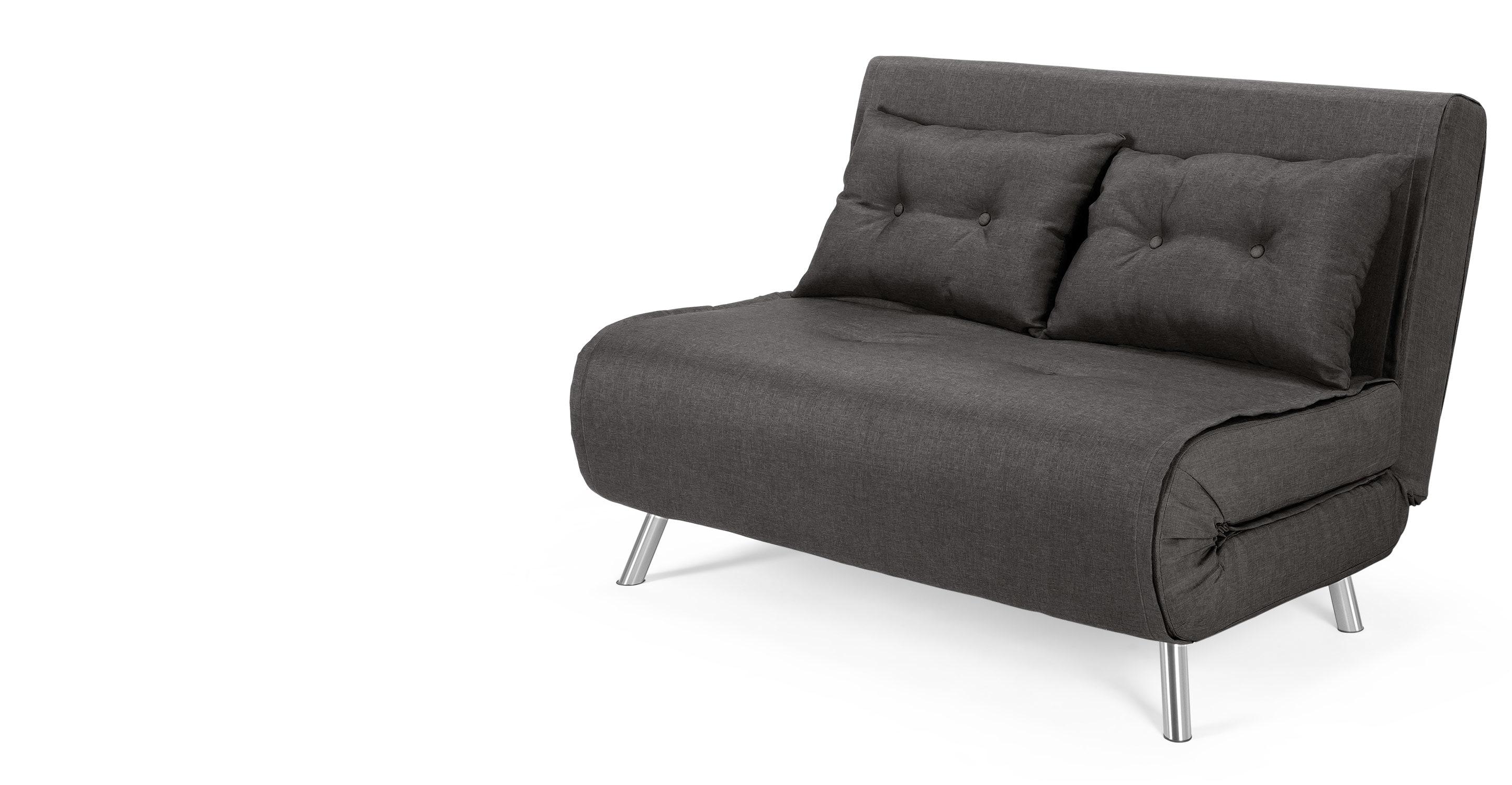 small sofa bed haru small sofabed, cygnet grey | made.com HJMTYFM