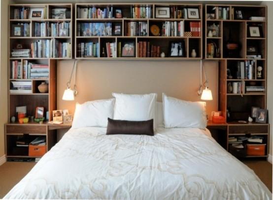 smart bedroom storage ideas CZBTIJE