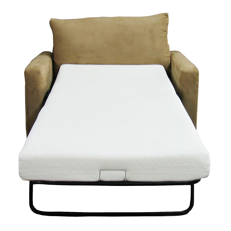 sofa bed mattress amazon.com: classic brands memory foam replacement sofa bed 4.5-inch  mattress, queen: kitchen KXIASYO