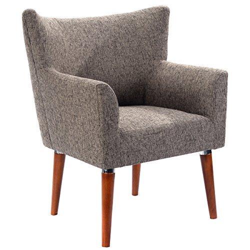 sofa chair giantex leisure arm chair single couch seat home garden living room  furniture QDSDGRW