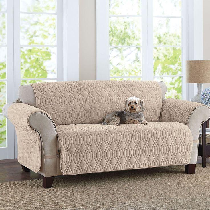 sofa cover plush pet covers FYSADPR