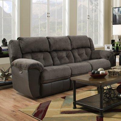 sofa recliner red barrel studio george reclining sofa u0026 reviews | wayfair BMUNJSQ
