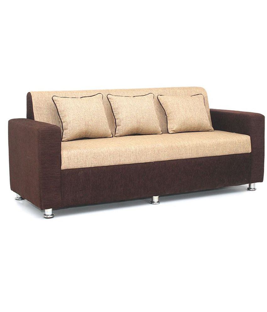 sofa set ... set bls tulip brown u0026 cream 3+1+1 seater sofa ... XHZJPGS