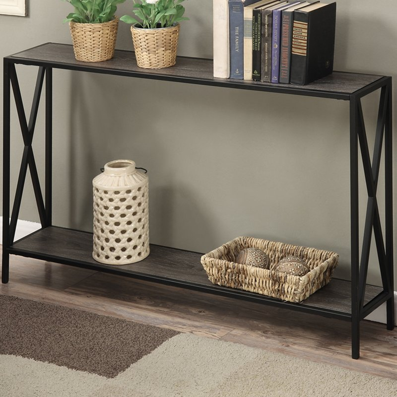 sofa table abbottsmoor metal frame console table QOYURSP