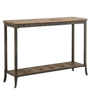 sofa table rory console table ECFCYGN