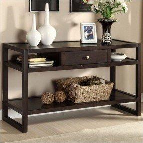 sofa table with storage drawers KMTRRPJ