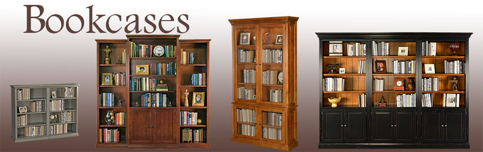solid wood bookcases - american made handcrafted bookcase IFRGIDK