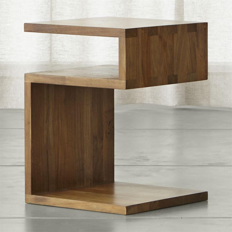 solid wood furniture entu side table DPRTKNP