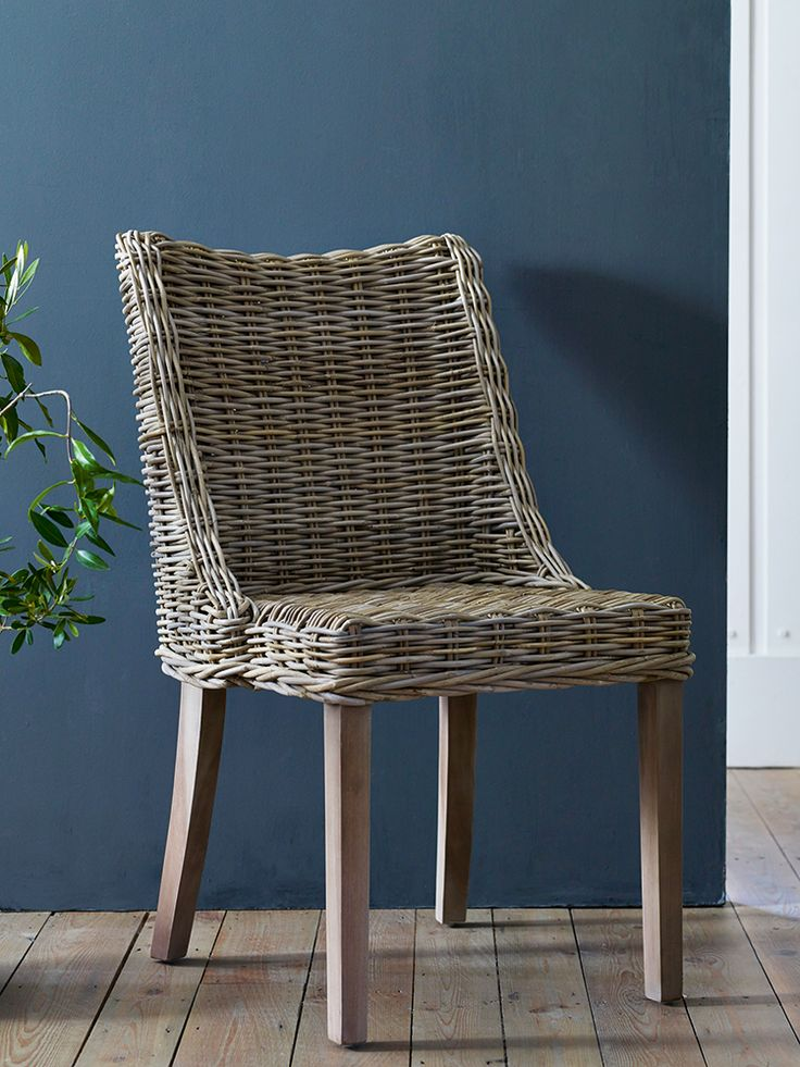 sophisticated style rattan dining chairs for dining room furniture ideas:  rattan kitchen YWWHUPE