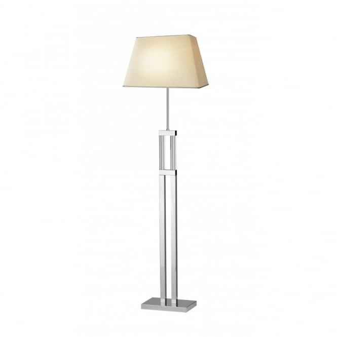 standard lamps the lighting book domain modern chrome and glass floor standard lamp YOKISZG