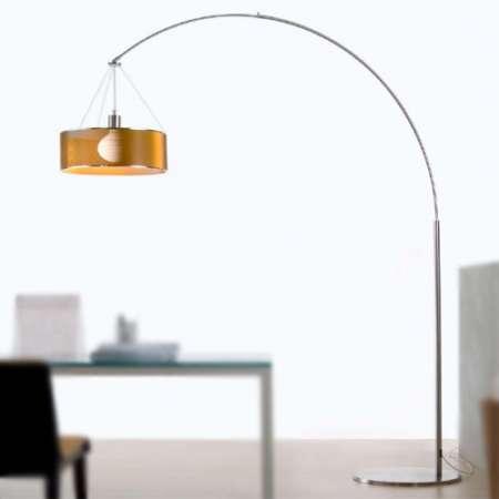 steel arc floor lamp XHUUUPG