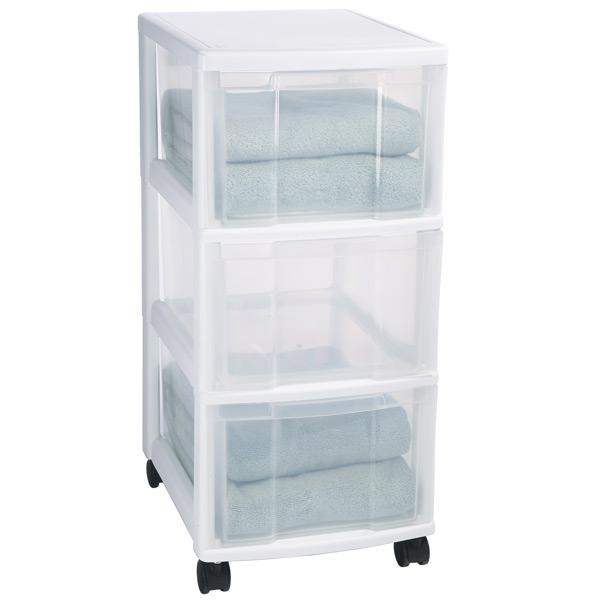 storage drawers 3-drawer storage chest MZNTDRN