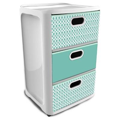 storage drawers home logic aqua SDKSUBM