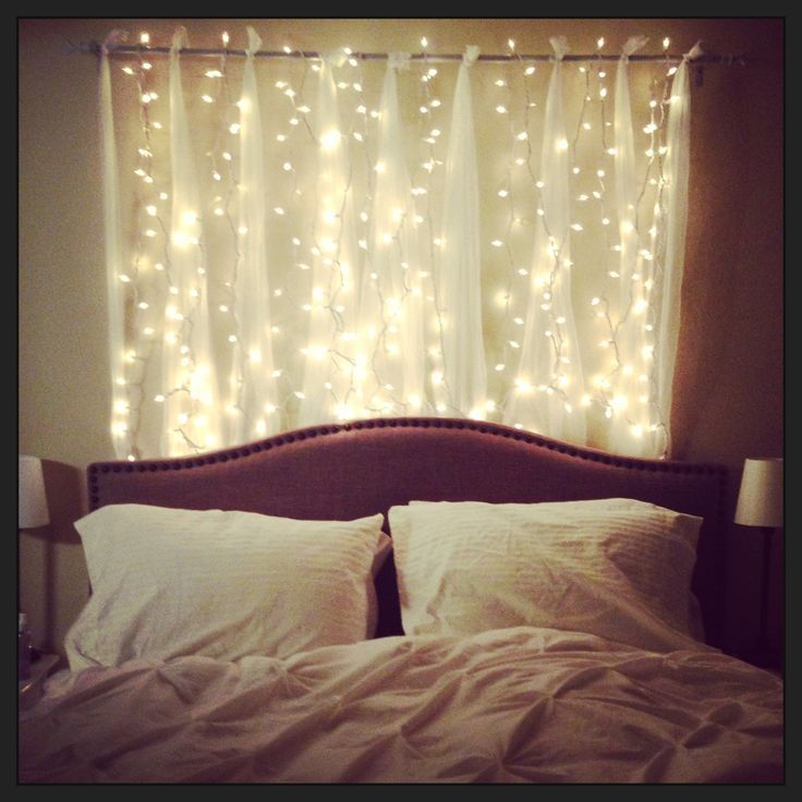 Remarkable string lights for bedroom ideas