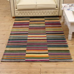 striped rugs ... striped indoor outdoor area rug · these little changes and updates YGWQPMB