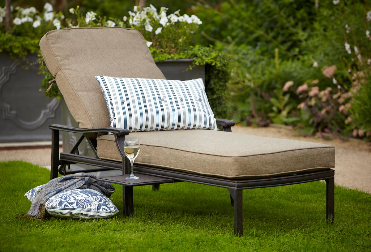 Relaxing Garden Loungers