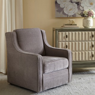 swivel chairs for living room madison park lois grey swivel chair NDZUNCE